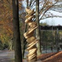 Tony Cragg, Dancing Column, ©Cragg Foundation, Charles Duprat